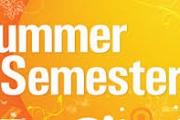 التسجيل للفصل الدراسي الصيفي