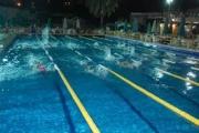 أفتتاح حمام السباحة