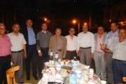 إفطار الساده أعضاء هيئة التدريس بحديقة الكلية 14/6/2016