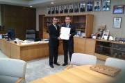 جامعة يابانية تمنح عميد زراعة القاهرة شهادة رفيعة المستوى لدوره فى تطوير العلاقات العلمية بين مصر واليابان