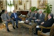 لقاء الدكتور هانى الشيمي مع رئيس الوزراء