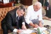 توقيع بروتوكول تعاون بين كلية الزراعة –  جامعة القاهرة ونادى الجولف